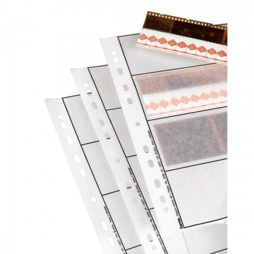 Hama Feuillets classeur cristal 4 bandes de 3 négatifs 6x6cm 25p