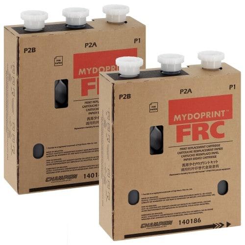 CHAMPION - Pack entretien CP-48S/CP-49E Mydoprint FRC compatible Fuji Frontier - Pack de 2 Cartouches Type P1 + P2A + P2B (140186)