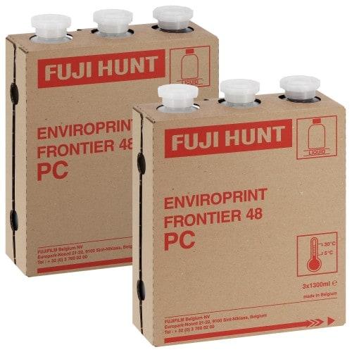 FUJI - Pack entretien CP48 Enviro-Print - 2 Cartouches (999775)