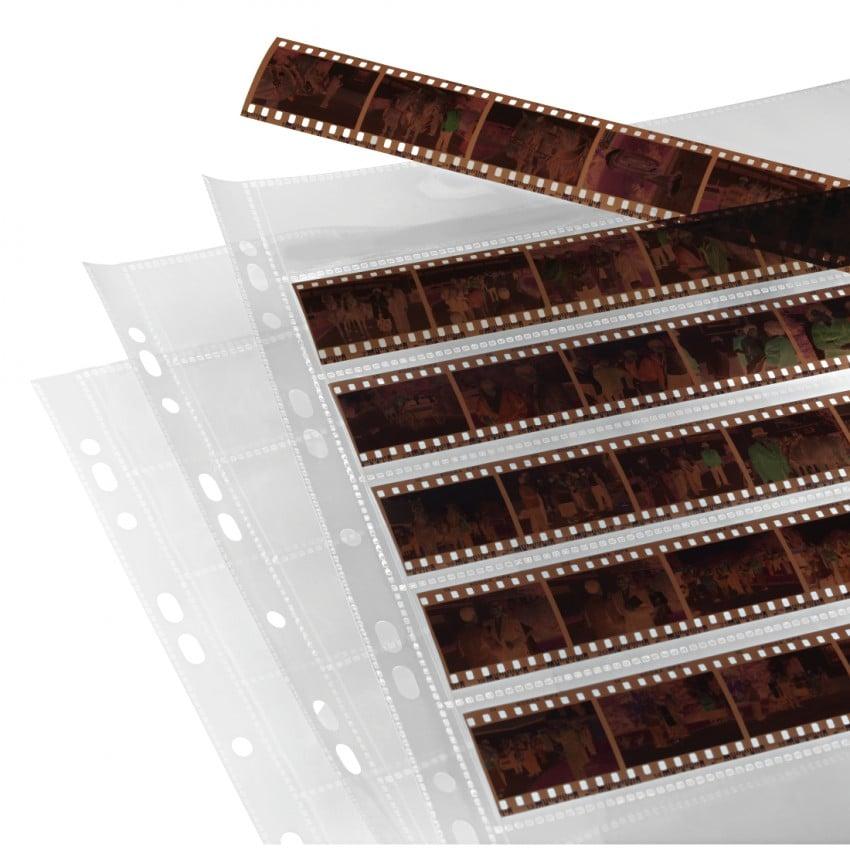 Hama Feuillets polypro 7 bandes de 6 négatifs 24x36mm 100p