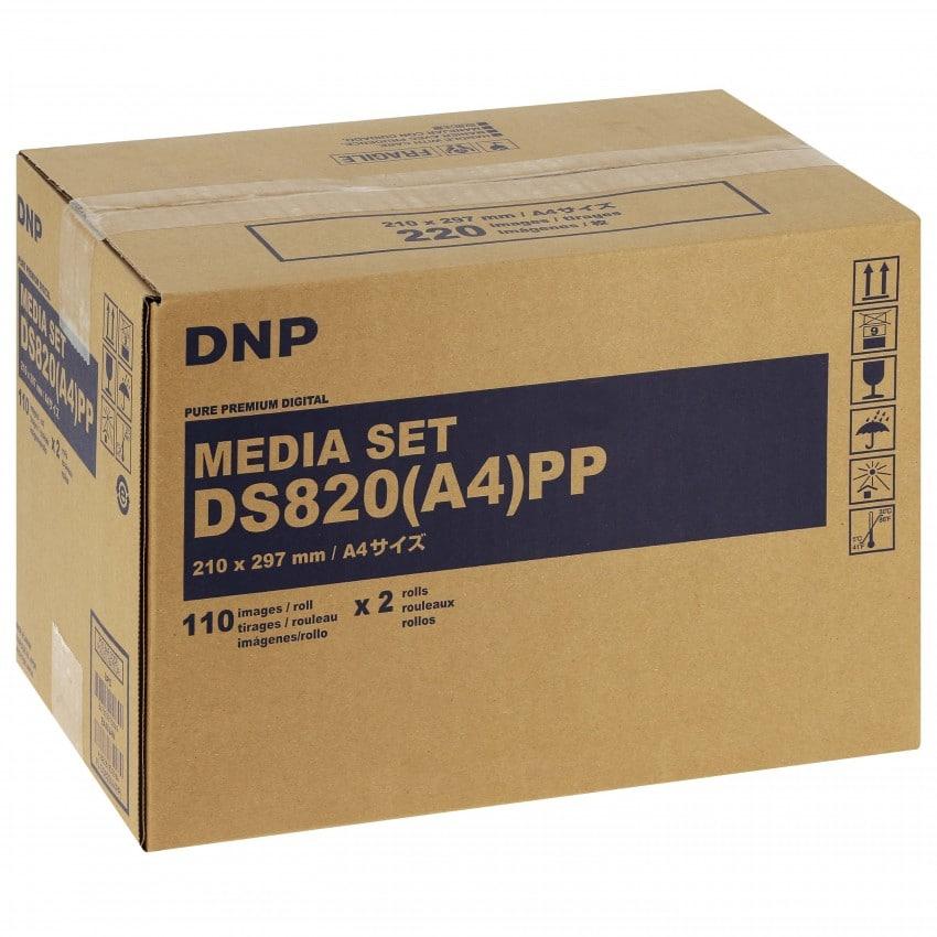 Consommable thermique DNP pour DS820 (Pure Premium Digital) -  A4 - 220 tirages
