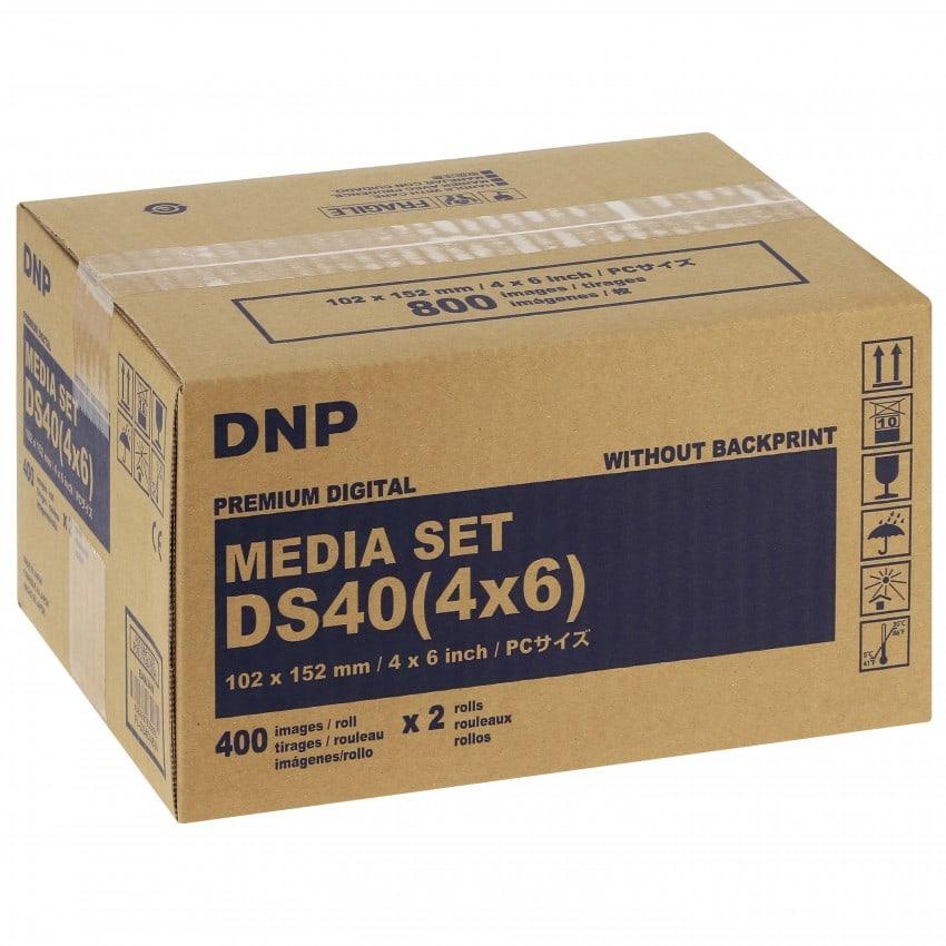 pour DS40 -  10x15cm - 800 tirages - Non marqué au dos