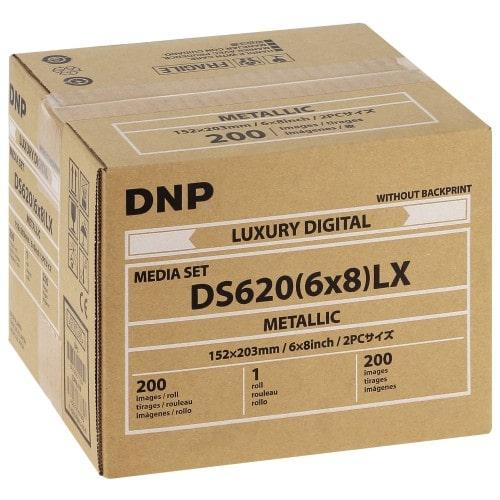 DNP thermique papier Metalic 15x20 media pour DS620 (200v)