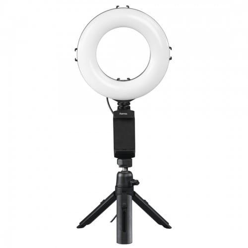 Spotlight Work Area 67 pour smartphone -Lampe anneau 48 LED - Diamètre 17cm