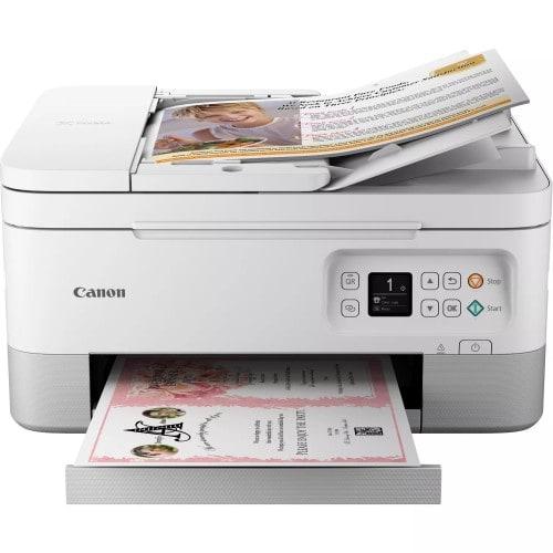 CANON - Imprimante jet d'encre Pixma TS7451 - Multifonction - Chargeur de documents - Tirages A4