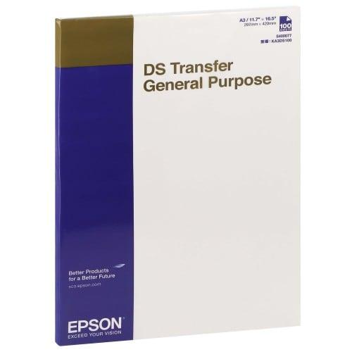 Epson papier sublimation DS A3 100f. pour SC-F500