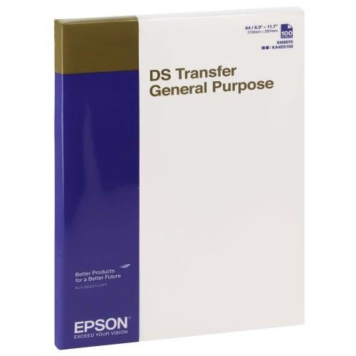 Epson papier sublimation DS A4 100f. pour SC-F500