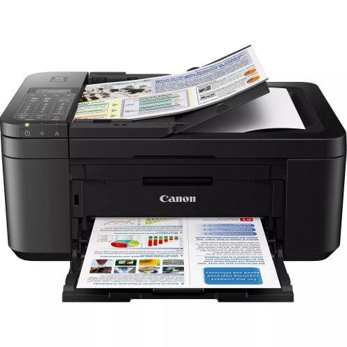 CANON - Imprimante jet d'encre Pixma TR4550 - Multifonction - Chargeur de documents - Tirages A4 - Noire