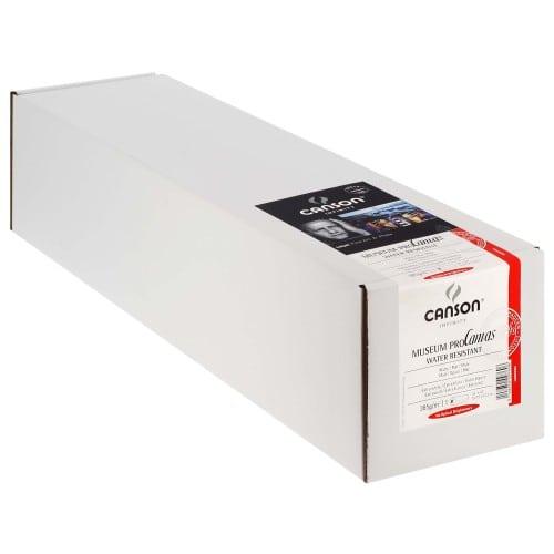 """Toile canvas jet d'encre CANSON Infinity Muséum ProCanvas Water Résistant 100% Coton mat 385g - 24"""" (61cm) - 12,2m"""