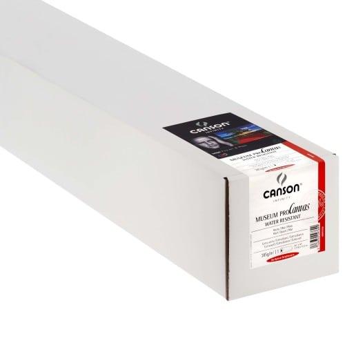 """Toile canvas jet d'encre CANSON Infinity Muséum ProCanvas Water Résistant 100% Coton mat 385g - 44"""" (111,8cm) - 12,2m"""