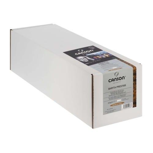 """Papier jet d'encre CANSON Infinity Baryta Prestige brillant 340g - 17"""" (43,2cm) - 15,24m"""