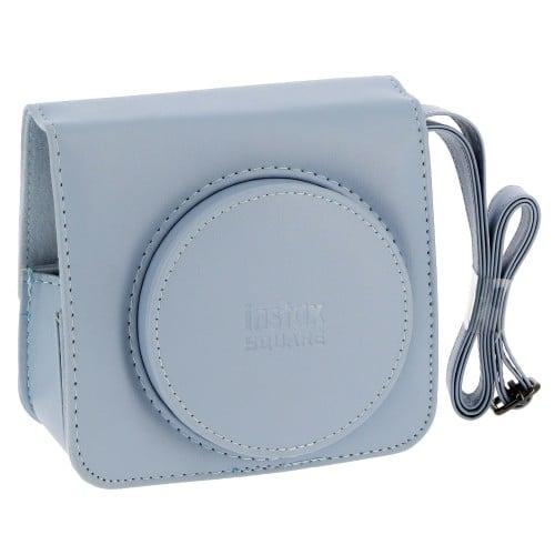 Intax Square - Bleu Glacier - Simili cuir - Pour Instax Square SQ1