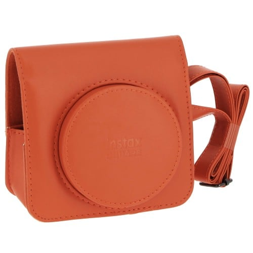 Fuji housse simili cuir pour Instax Square SQ1 Orange Terracotta