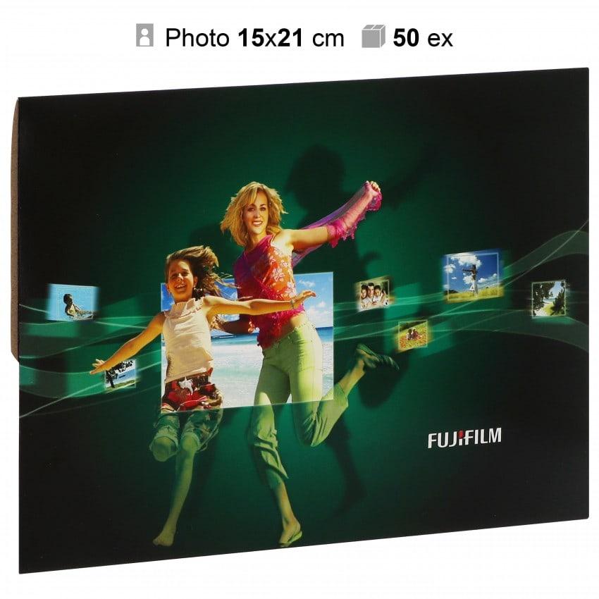 Pochette agrandissement FUJI 17x23cm FUJI pour photo 15x21cm - Carton de 50