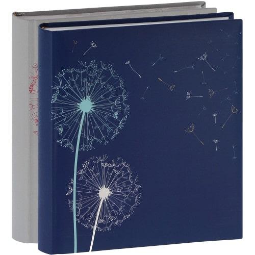 ERICA - Album photo pochettes avec mémo NATURE - 100 photos blanches - 200 photos - Couverture Multicolore 24x24,8cm - Lot de 2 albums