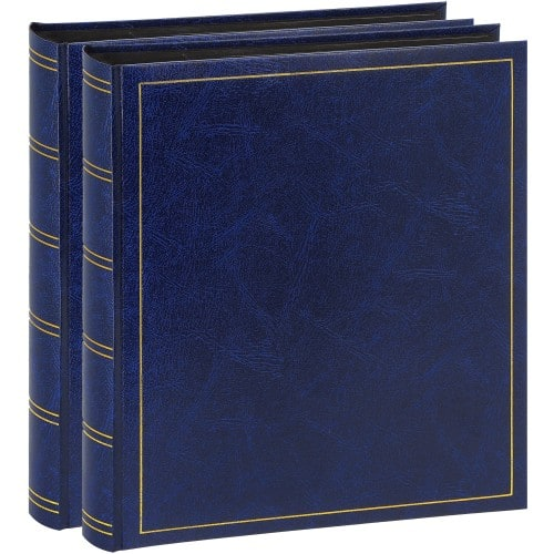 Brepols Pack 2 albums Turbo Line 29x32cm 100p noires 500ph Bleu