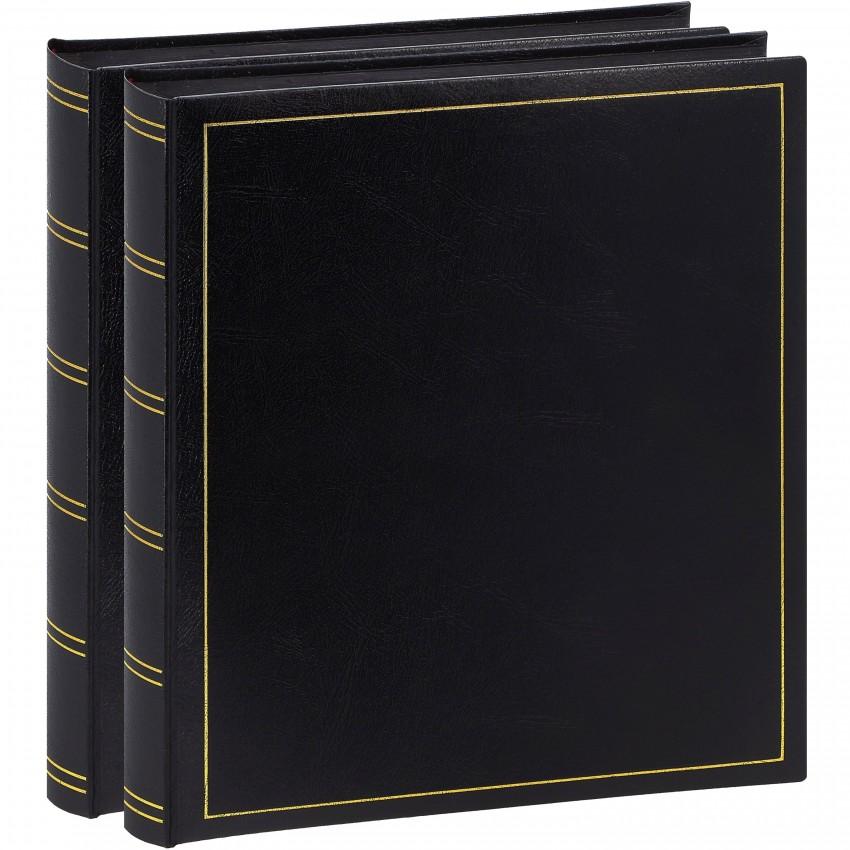 Brepols Pack 2 albums Turbo Line 29x32cm 100p noires 500ph Noir