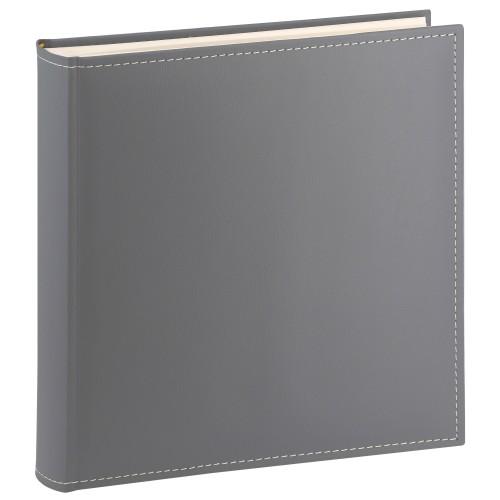 GOLDBUCH - Album photo traditionnel CEZANNE - 100 pages blanches + feuillets cristal - 400 photos - Couverture Grise 30x31cm