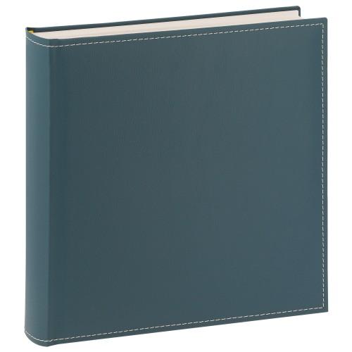 GOLDBUCH - Album photo traditionnel CEZANNE - 100 pages blanches + feuillets cristal - 400 photos -  Couverture Bleue Turquoise 30x31cm