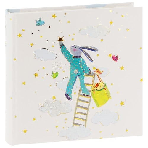 GOLDBUCH - Album photo traditionnel SWEET DREAMS - 60 pages blanches + feuillets cristal - 120 photos - Couverture 25x25cm