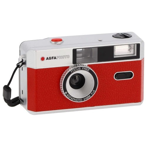 Agfa Appareil photo rechargeable 35mm Rouge