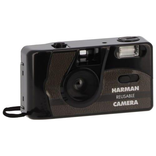 HARMAN - Appareil photo rechargeable + 2 films Kentmere N&B 36 poses - Noir