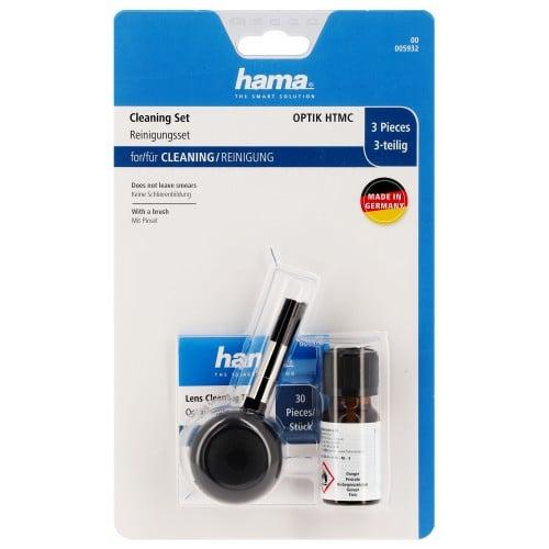 HAMA - Kit de nettoyage ''Optik HTMC'' - pour objectif - 3 pièces