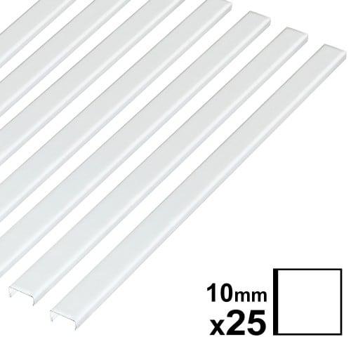 Baguette couverture album OPUS pour 30x30cm 10mm blanche 25 pces