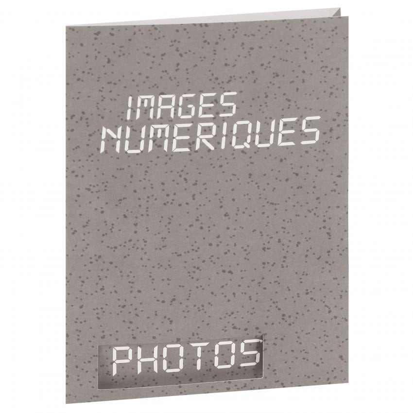 Chemise - Pochette identité BESOIN & BARJON pour identité numérique - 10x15cm - 2 volets - Lot de 100