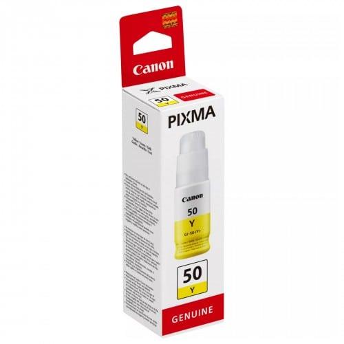 Canon encre bouteille GI-50Y jaune pour G5050