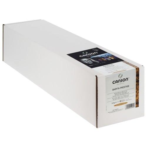 """Papier jet d'encre CANSON Infinity Baryta Prestige brillant 340g - 24"""" (61cm) - 15,24m"""