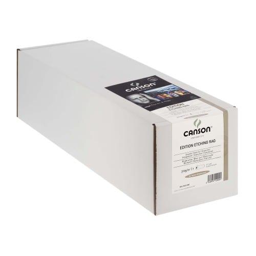 """Papier jet d'encre CANSON Infinity Edition Etching Rag blanc mat 310g - 17"""" (43,2cm) - 15,24m"""