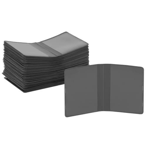 Chemise - Pochette identité MB TECH Plastique Grise - Lot de 100