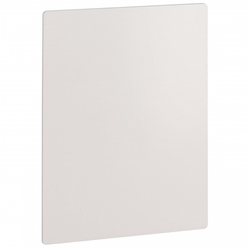 Panneau ChromaLuxe CHROMALUXE aluminium - Dim. 127x178x1mm - Blanc brillant