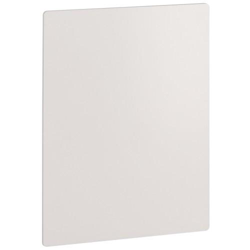 Panneau ChromaLuxe aluminium 18 x 27 cm - épaisseur 1,14mm - Blanc brillant