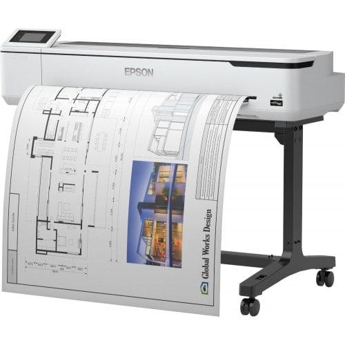"""EPSON - Imprimante technique SureColor SC-T5100 - Largeur 36"""" (914mm) - 4 couleurs"""