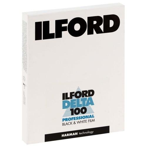 """DELTA 100 Format 4x5"""" - 25 feuilles L'unité"""