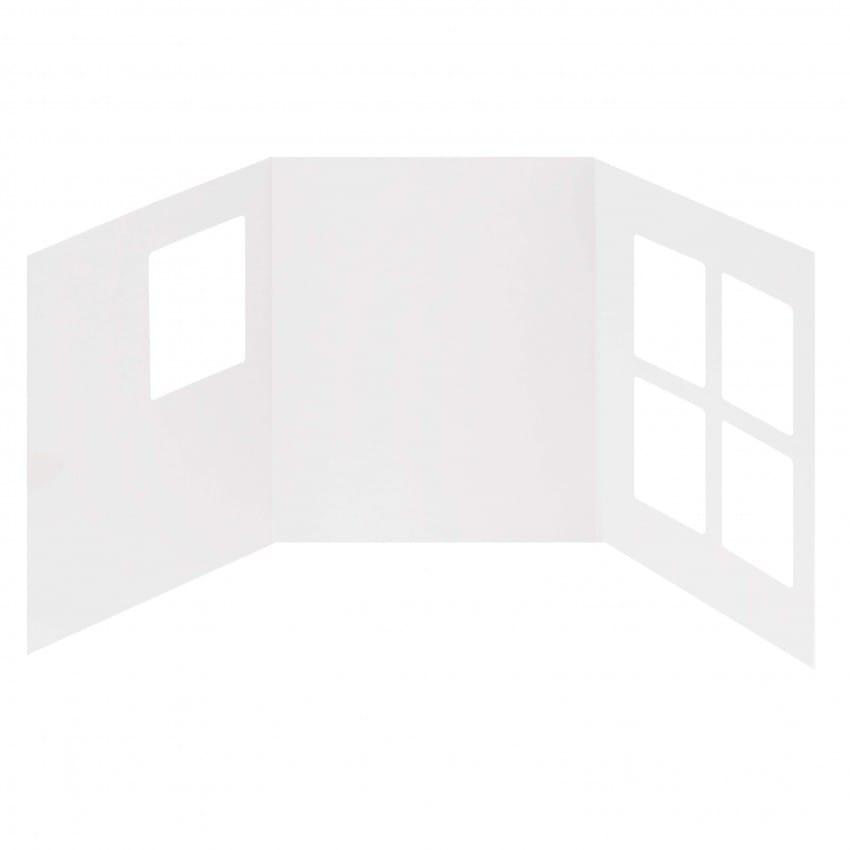 Chemise - Pochette identité MB TECH pour identité Polaroïd - 3 volets - Lot de 250
