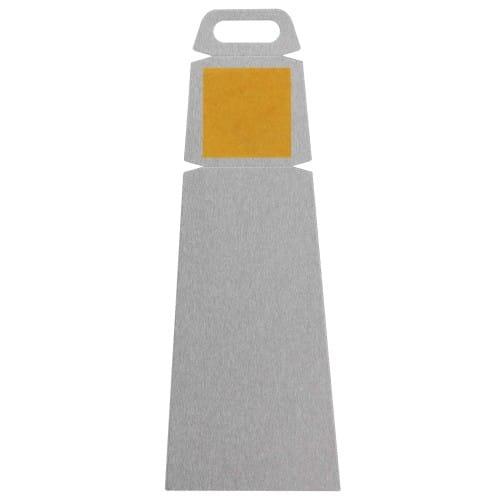 Panneau ChromaLuxe CHROMALUXE - Chevalet aluminium - Dim. 140x51x1,14mm