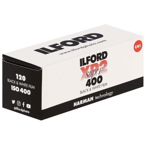Film noir et blanc XP2 SUPER 400 Format 120 - à l'unité