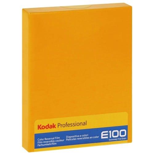 EKTACHROME E100 Format 4x5 inch - 10 feuilles - à l'unité