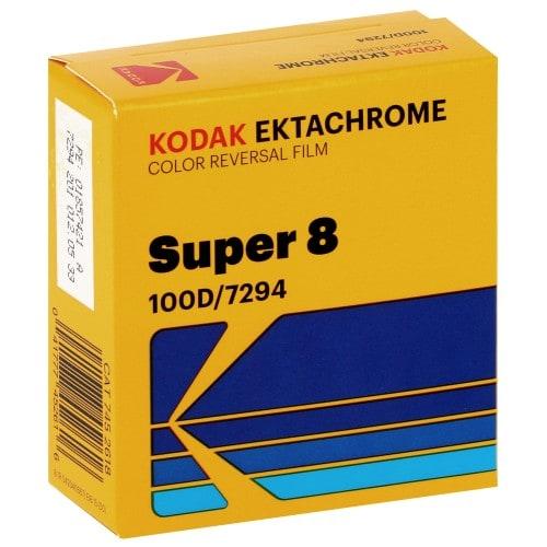 EKTACHROME 100D Format Super 8 - Longueur 15,25m - à l'unité