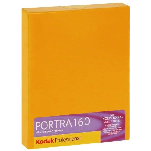PORTRA 160 Format 4x5 inch - 10 feuilles - à l'unité