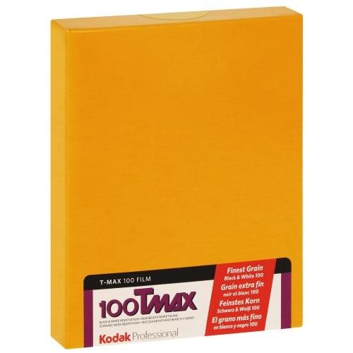 TMAX 100 Format 4x5 inch - 10 feuilles - à l'unité