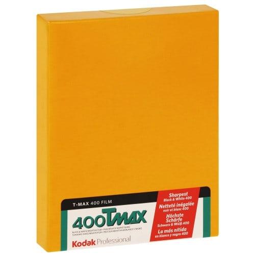 TMAX 400 Format 4x5 inch - 10 feuilles - à l'unité