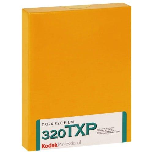 TRI-X 320 Format 4x5 inch - 10 feuilles - à l'unité