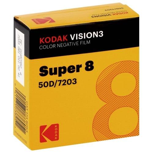 VISION3 50D Format Super 8 - Longueur 15,25m - à l'unité