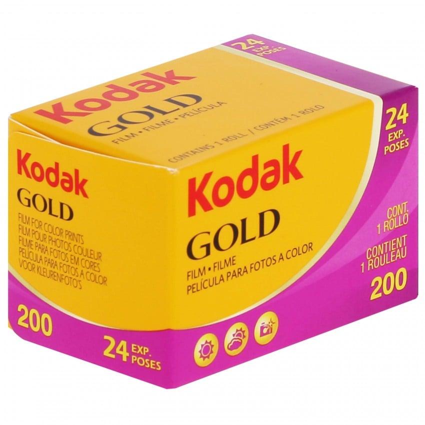 Pellicule photo KODAK Gold New 200 iso  135/24P L'unité