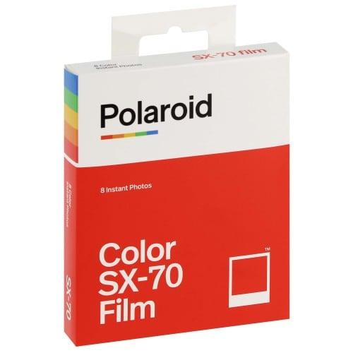 Film instantané POLAROID ORIGINALS pour POLAROID SX70/Type 1000 - 8 photos - couleur