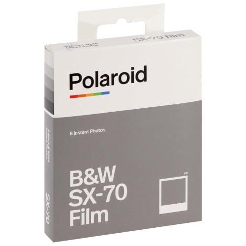 Film instantané POLAROID ORIGINALS pour POLAROID SX70/Type 1000 - 8 photos - noir et blanc